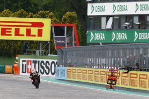 Jonathan Rea, Kawasaki Racing Team, pitboard plus9