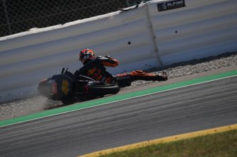 La chute de Pol Espargaró, KTM Factory Racing