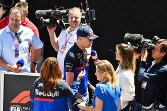 Daniil Kvyat, Toro Rosso in Press Conference
