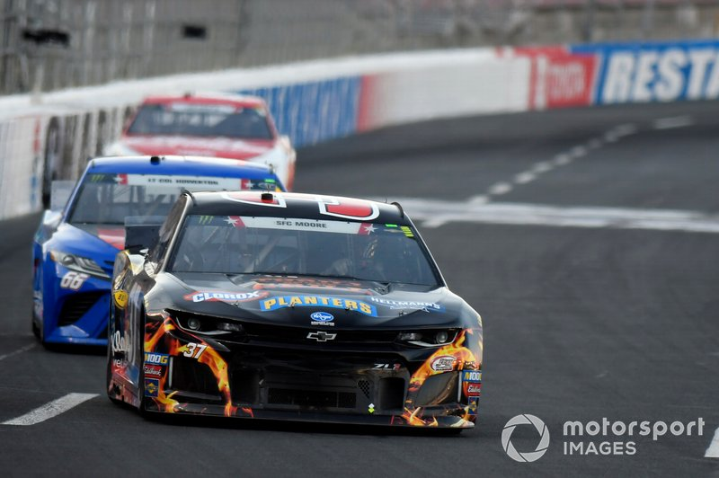 Chris Buescher, JTG Daugherty Racing, Chevrolet Camaro Kroger Thrill of the Grill