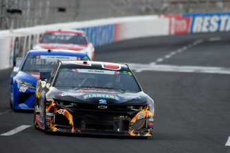 Chris Buescher, JTG Daugherty Racing, Chevrolet Camaro Kroger Thrill of the Grill