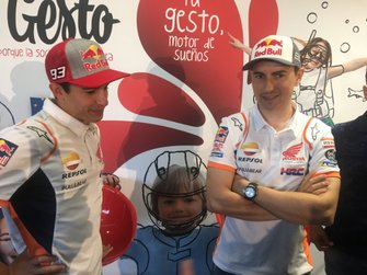 Marc Márquez and Jorge Lorenzo, Honda HRC, event previous Catalan GP