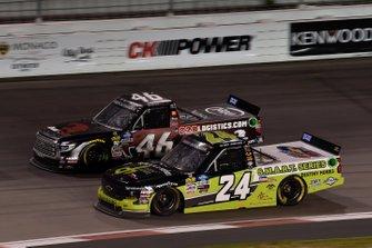 Chandler Smith, Kyle Busch Motorsports, Toyota Tundra iBUYPOWER/828 Logistics, Brett Moffitt, GMS Racing, Chevrolet Silverado Destiny Homes