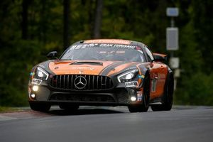 #47 Black Falcon Mercedes AMG GT4: Stephan Rösler, Yannick Mettler, Maik Rosenberg, Mike Stursberg