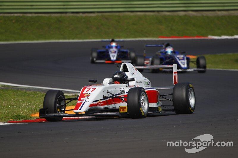 Andrea Rosso, Antonelli Motorsport, vittorioso ai Motorsport Games di Vallelunga in Formula 4