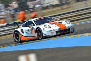 №86 Gulf Racing Porsche 911 RSR: Майкл Уэйнрайт, Бен Баркер, Томас Прайнинг