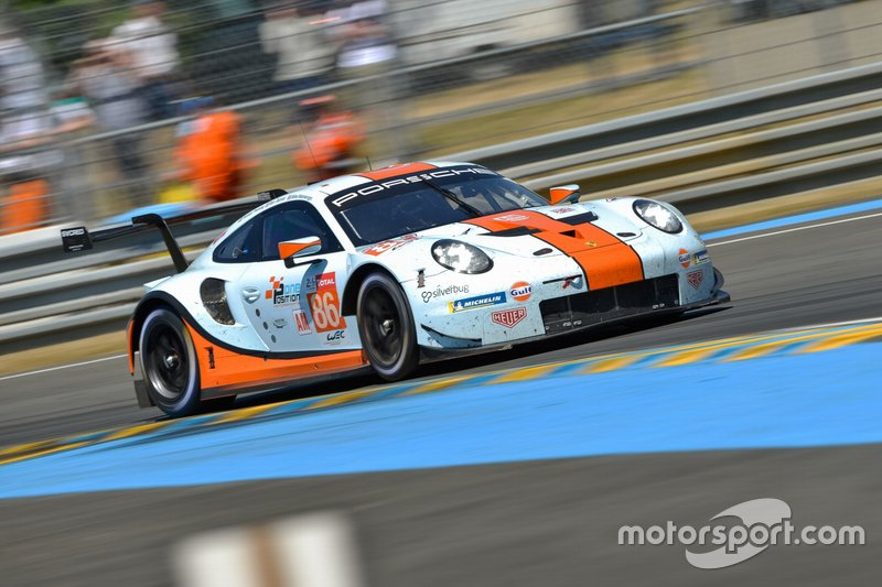 GTE-Am: #86 Gulf Racing, Porsche 911 RSR