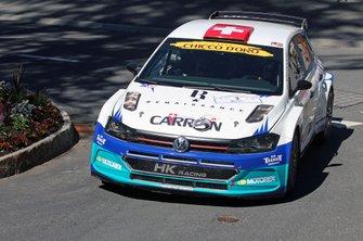 Sebastien Carron, Lucien Revaz, Volkswagen Polo, D-Max Swiss