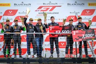Podium #4 BLACK FALCON Mercedes-AMG GT3: Luca Stolz, Maro Engel