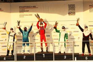 Pódio Carrera Cup em Interlagos