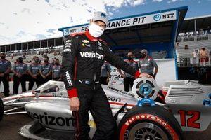Pole Award winner: Will Power, Team Penske Chevrolet