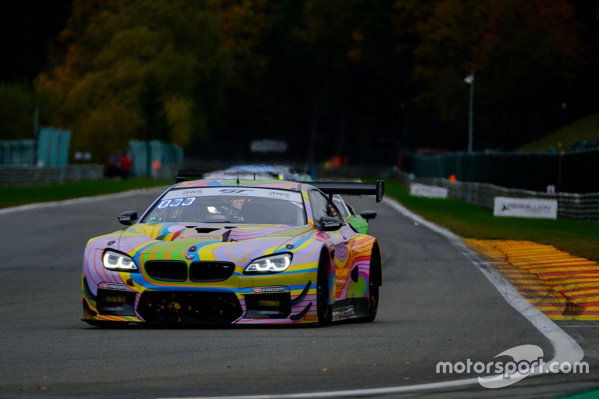 #10 Boutsen Ginion BMW M6 GT3: Karim Ojjeh, Gilles Vannelet, Jens Klingmann, Benjamin Lessennes