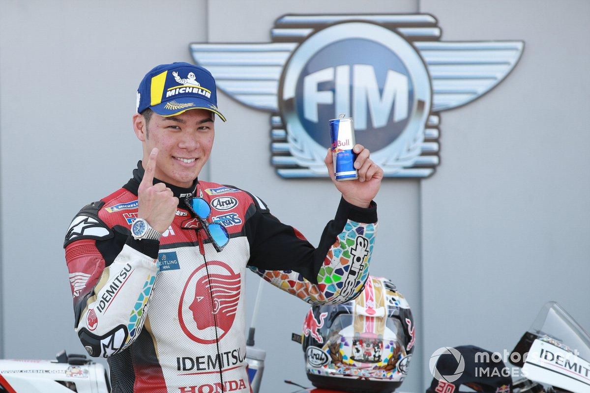 Ganador de la pole Takaaki Nakagami, Team LCR Honda