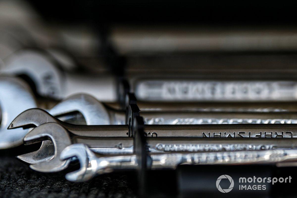 Detalle de las llaves Craftsman wrenches (llaves inglesas)