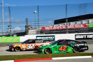 Corey LaJoie, Go FAS Racing, Ford Mustang Keen Parts, Matt Kenseth, Chip Ganassi Racing, Chevrolet Camaro Clover