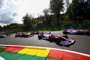 Sergio Perez, Racing Point RP20 Lance Stroll, Racing Point RP20