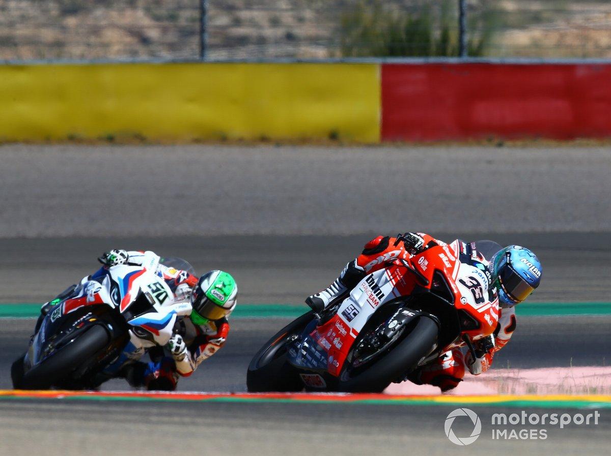 Marco Melandri, Eugene Laverty, BMW Motorrad WorldSBK Team