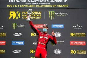 Podio: ganador Niclas Gronholm, GRX Taneco