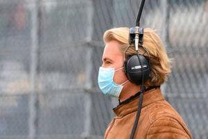 Nico Rosberg, Sky Sports F1, on the grid