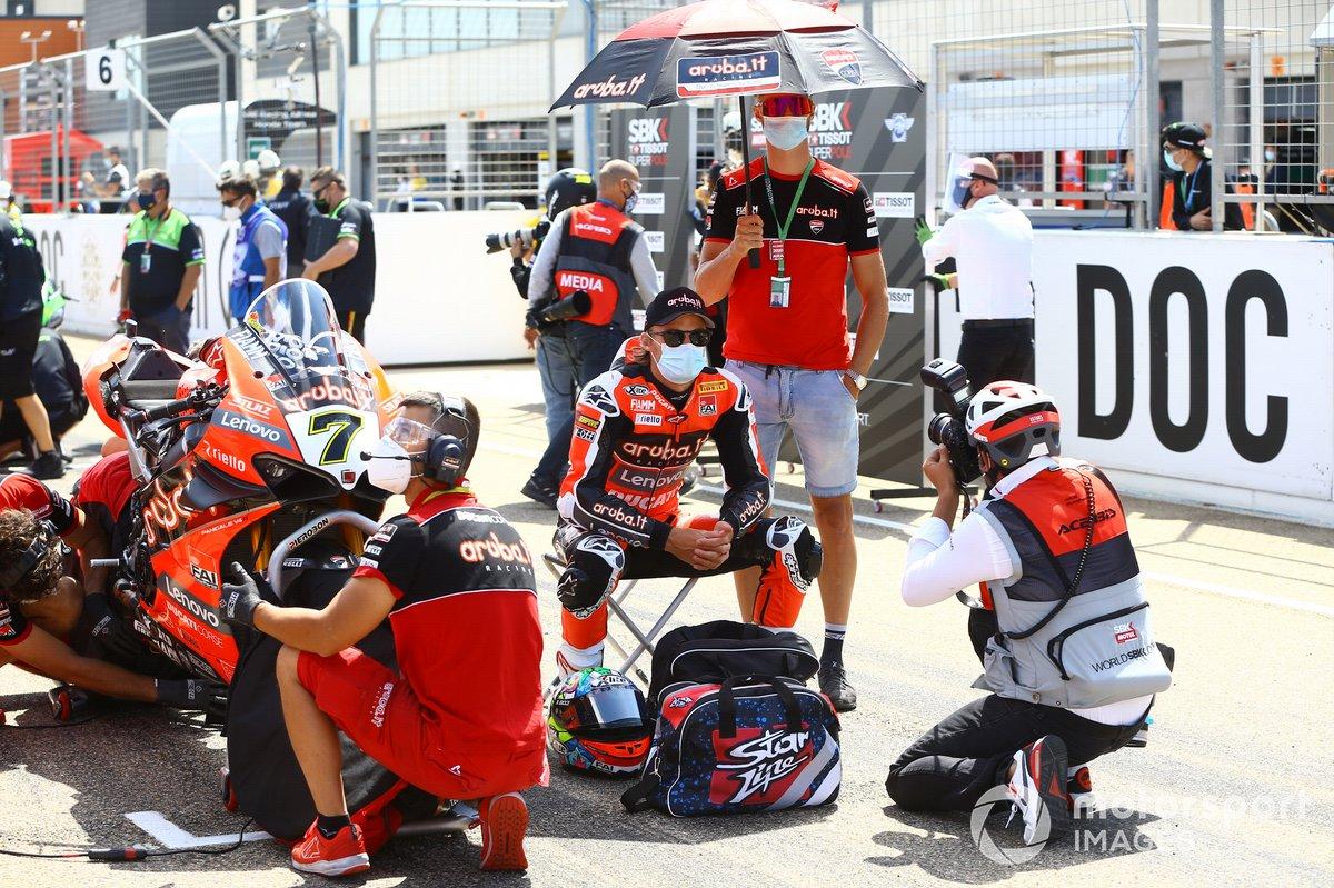 Chaz Davies, Arubait Racing Ducati, Leon Camier, Barni Racing Team