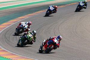 Leon Haslam, Team HRC, Alex Lowes, Kawasaki Racing Team, Tom Sykes, BMW Motorrad WorldSBK Team