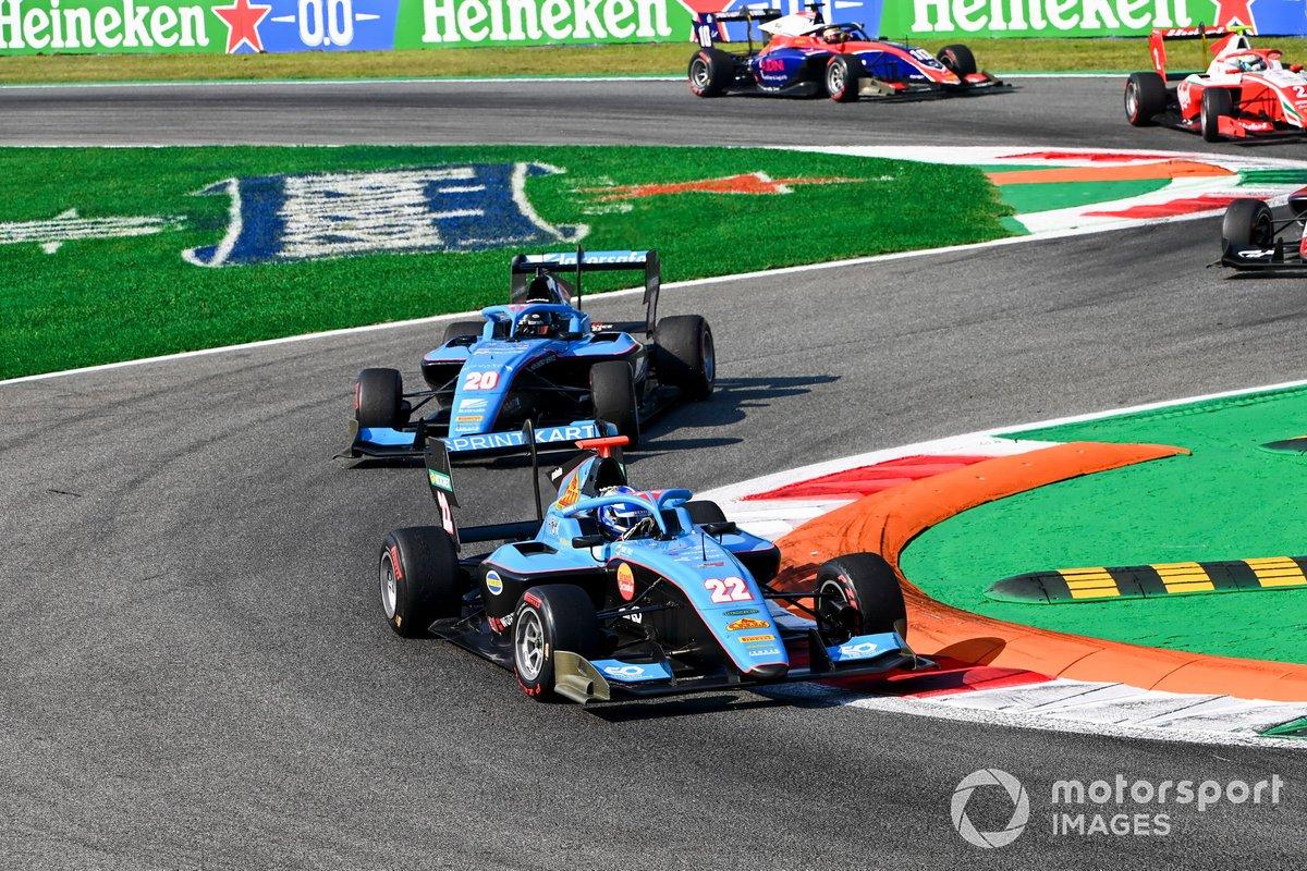 Matteo Nannini, Jenzer Motorsport e Calan Williams, Jenzer Motorsport
