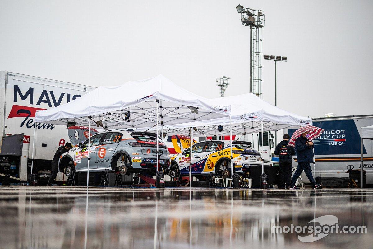 Ambiente del Rally La Nucía 2020