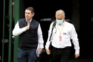 Derek Warwick, FIA