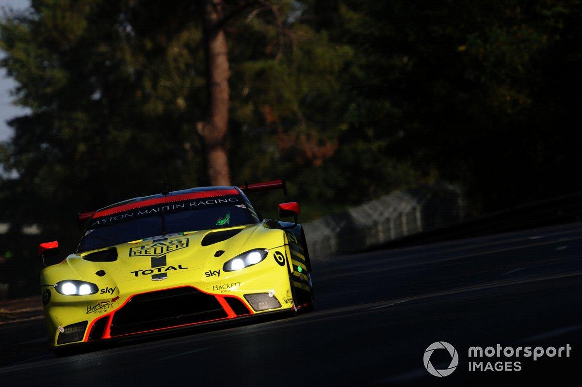 #95 Aston Martin Racing Aston Martin Vantage AMR: Nicki Thiim, Marco Sorensen, Richard Westbrook