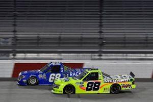 Matt Crafton, ThorSport Racing, Ford F-150 Ideal Door/Menards Clay Greenfield, Clay Greenfield Motorsports, Toyota Tundra
