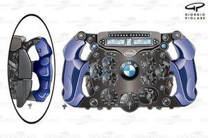 Volant BMW Sauber F1.09 de Nick Heidfeld