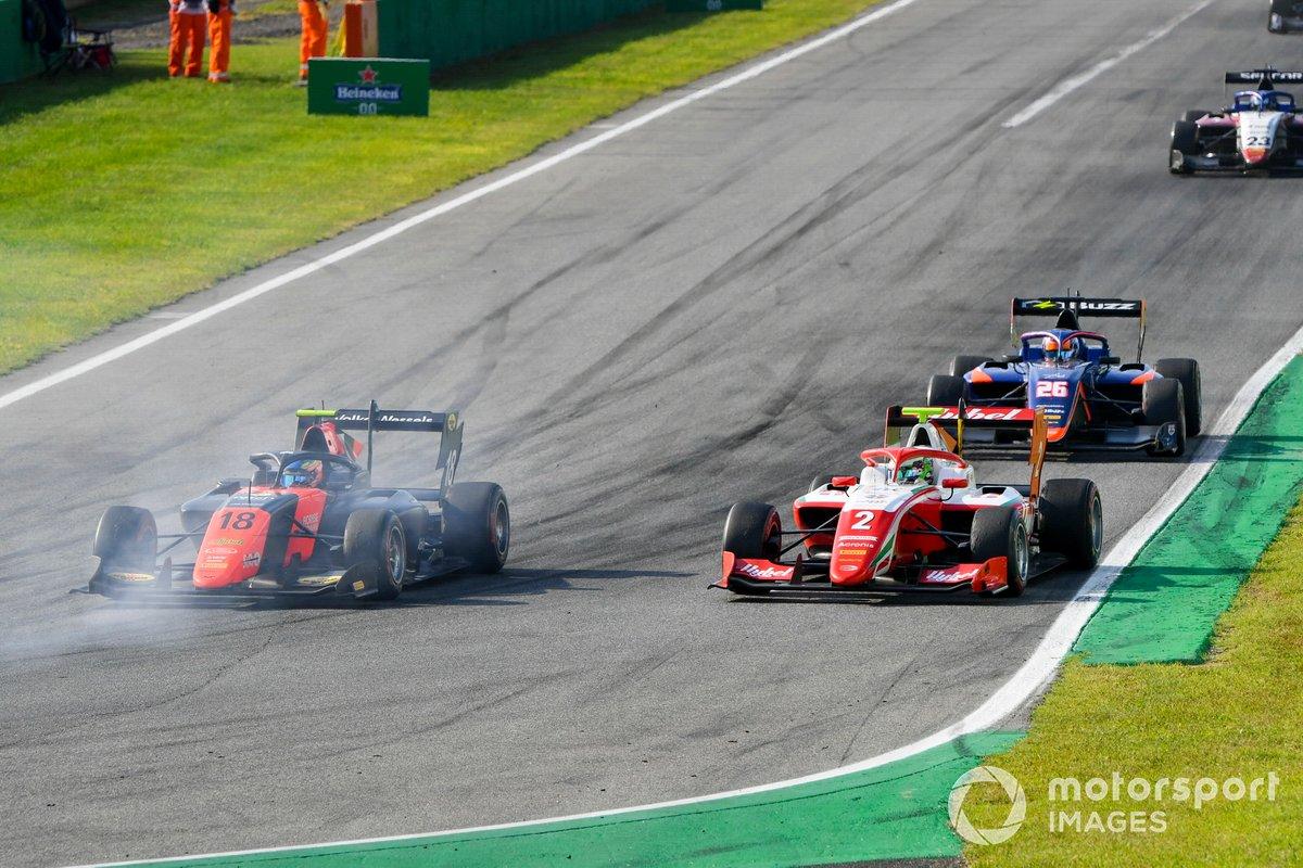 Bent Viscaal, MP Motorsport y Frederik Vesti, Prema Racing