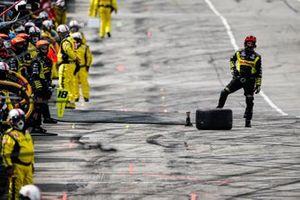 Arrêt au stand de Santino Ferrucci, Dale Coyne Racing avec Vasser Sullivan Honda
