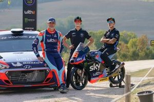 Umberto Scandola, Hyundai Motorsport, Celestino Vietti ed Andrea Migno, Sky Racing Team VR46