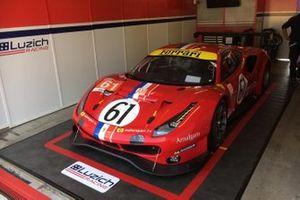 #61 Luzich Racing Ferrari 488 GTE Evo: Francesco Piovanetti, Oswaldo Negri, Come Ledogar