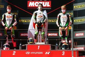 Scott Deroue, MTM Kawasaki Motoport, Jeffery Buis, MTM Kawasaki Motoport