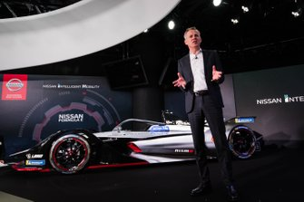 Nissan E.Dams Formula E Car Launch