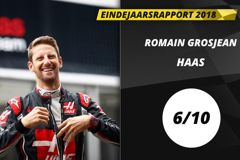 Eindrapport 2018: Romain Grosjean, Haas