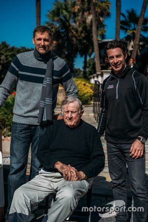 Brent Barry, Red McCombs, Simon Pagenaud - IndyCar, San Antonio