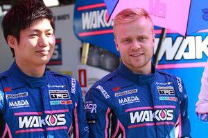 大嶋和也とフェリックス・ローゼンクヴィスト(#6 WAKO'S 4CR LC500)