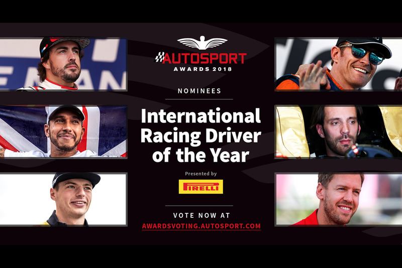 Autosport Awards 2018: International Racing Driver of the Year