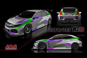 Prince Racing, Honda Civic Type R TCR