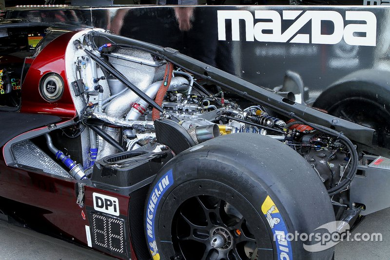 #77 Mazda Team Joest Mazda DPi, Dpi engine detail