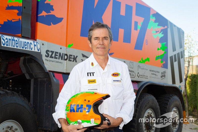 Jordi Juvanteny, KH-7 Epsilon Team