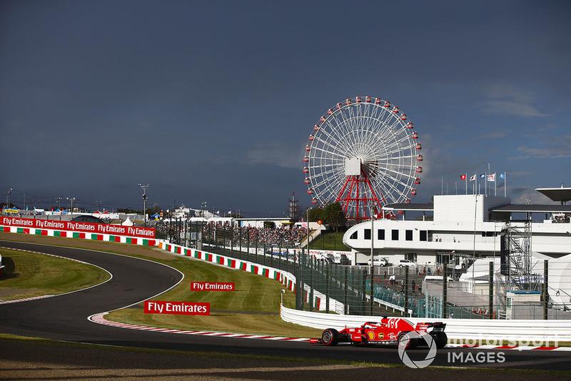 6. Sebastian Vettel, Ferrari SF71H.