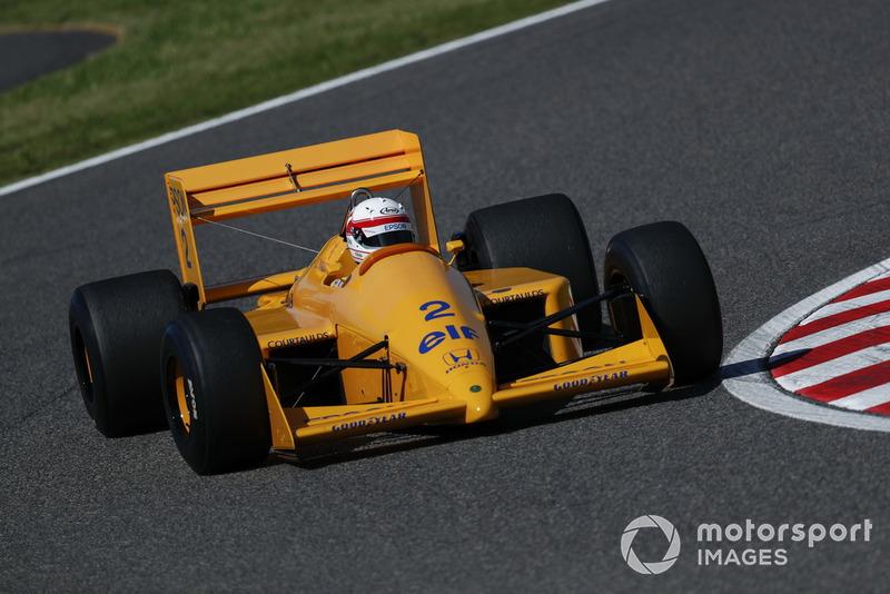 Satoru Nakajima, Lotus 100T, acara demonstrasi lap Perayaan Legenda F1 ke-30