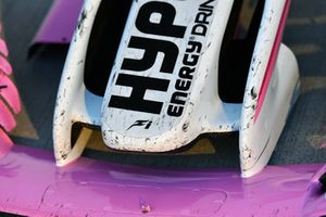 Racing Point Force India VJM11 nose and front wing