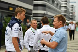 Sergey Sirotkin, Williams Racing y Mika Salo