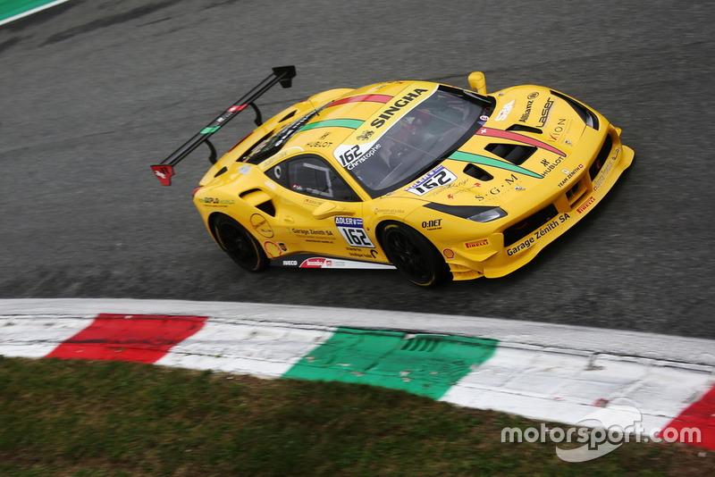 Ferrari 488 #2, Rossocorsa: Davide Fumanelli