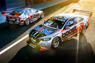 Scott Pye, Warren Luff, Walkinshaw Andretti United Holden and James Courtney and Jack Perkins, Walkinshaw Andretti United Holden
